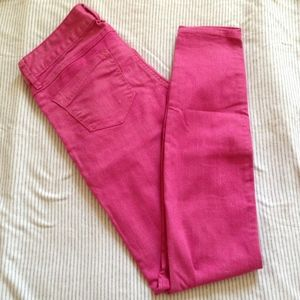 EXPRESS SKINNY JEANS IN PINK